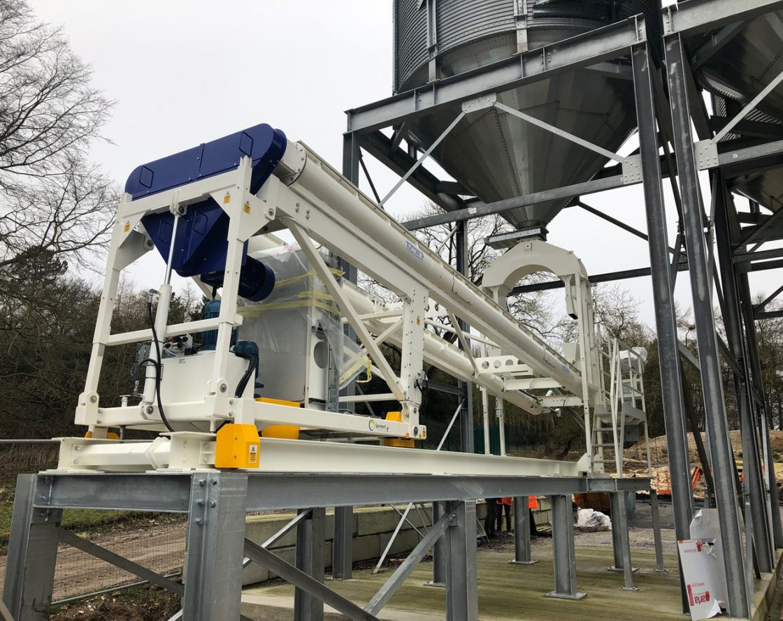 New container loader is ideal for dry bulk commodities